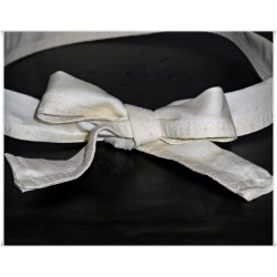 Solid Cream Wired Headband