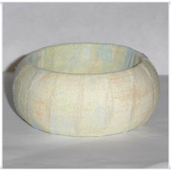 Inviting Grunge Hello Luscious Fabric Bangle